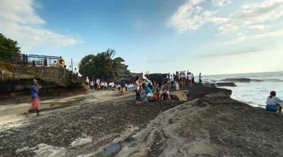 19,195 Tourists Was Visited Tanah Lot on July 20 - August 24, 2020
