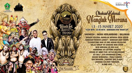 Tanah Lot Will Held Tanah Lot Art & Food Festival #3 2020