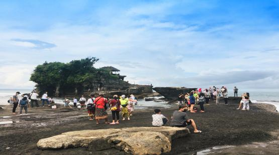 Tanah Lot Ready to Welcome Tourists During Idul Fitri Holidays