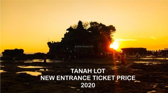 Information About Tanah Lot's New Entrance Ticket Price in 2020